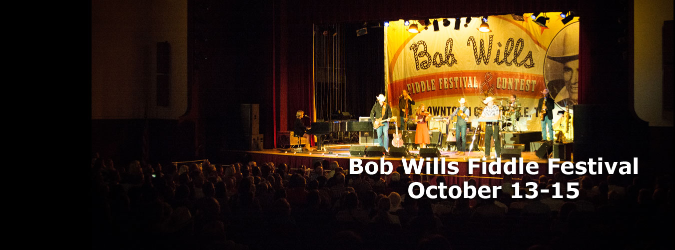 Bob Wills Fiddle Festival - Oct 13-15
