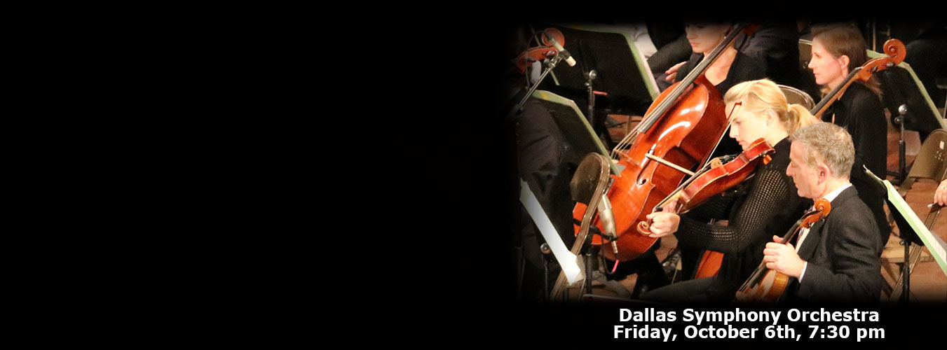 Dallas Symphony Orchestra at GMA October 6